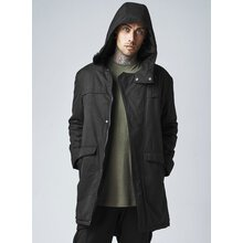 Urban Classics Winterjacke Herren Cotton Peached Canvas...