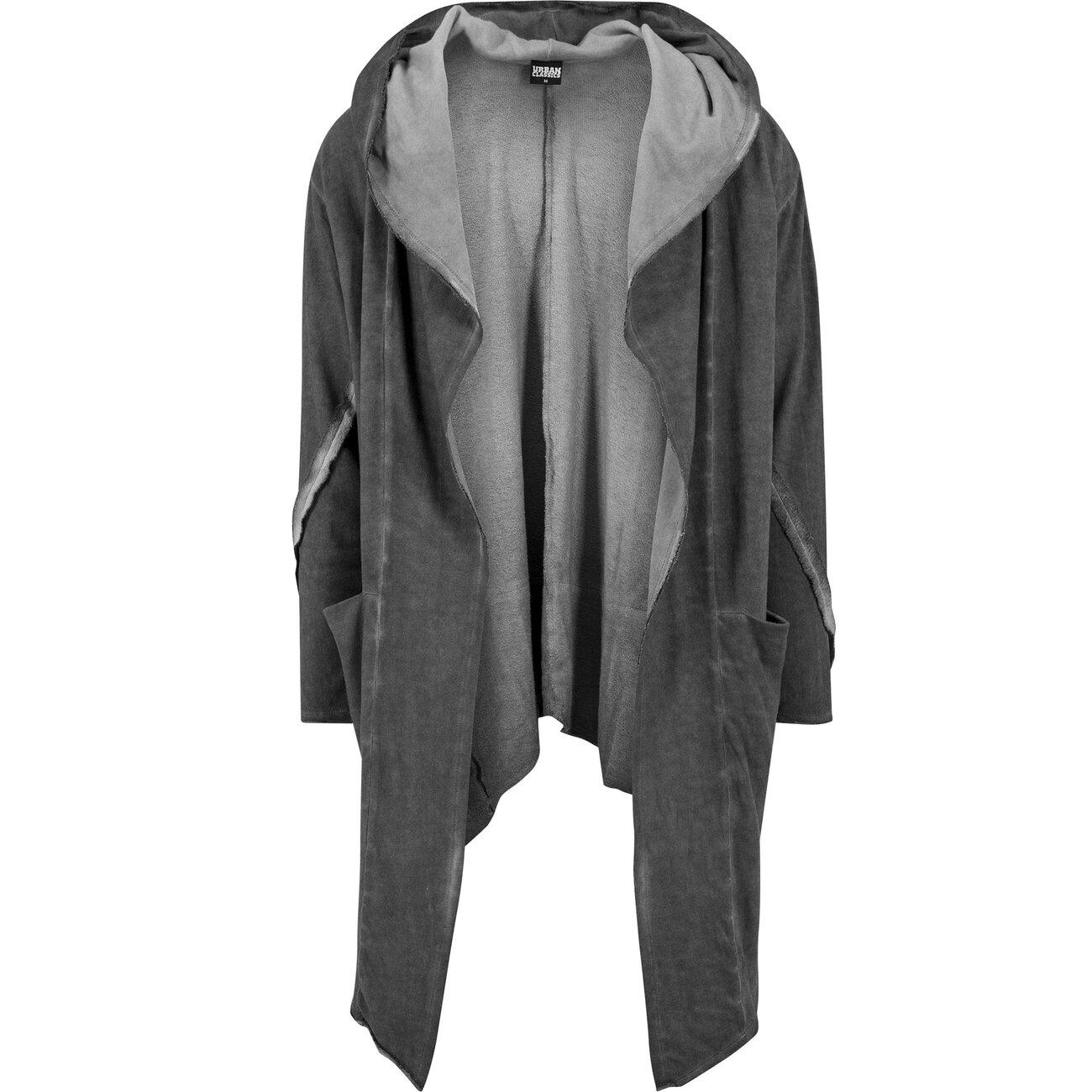 d99a6ae3a5f2 Urban Classics Herren Strickjacke Cold Dye In Grau 294026