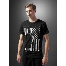 Mister Tee T-Shirt Herren 2PAC PRESIDENT Print Kurzarm Shirt MT-404 Schwarz  XL 3e3cd15f71