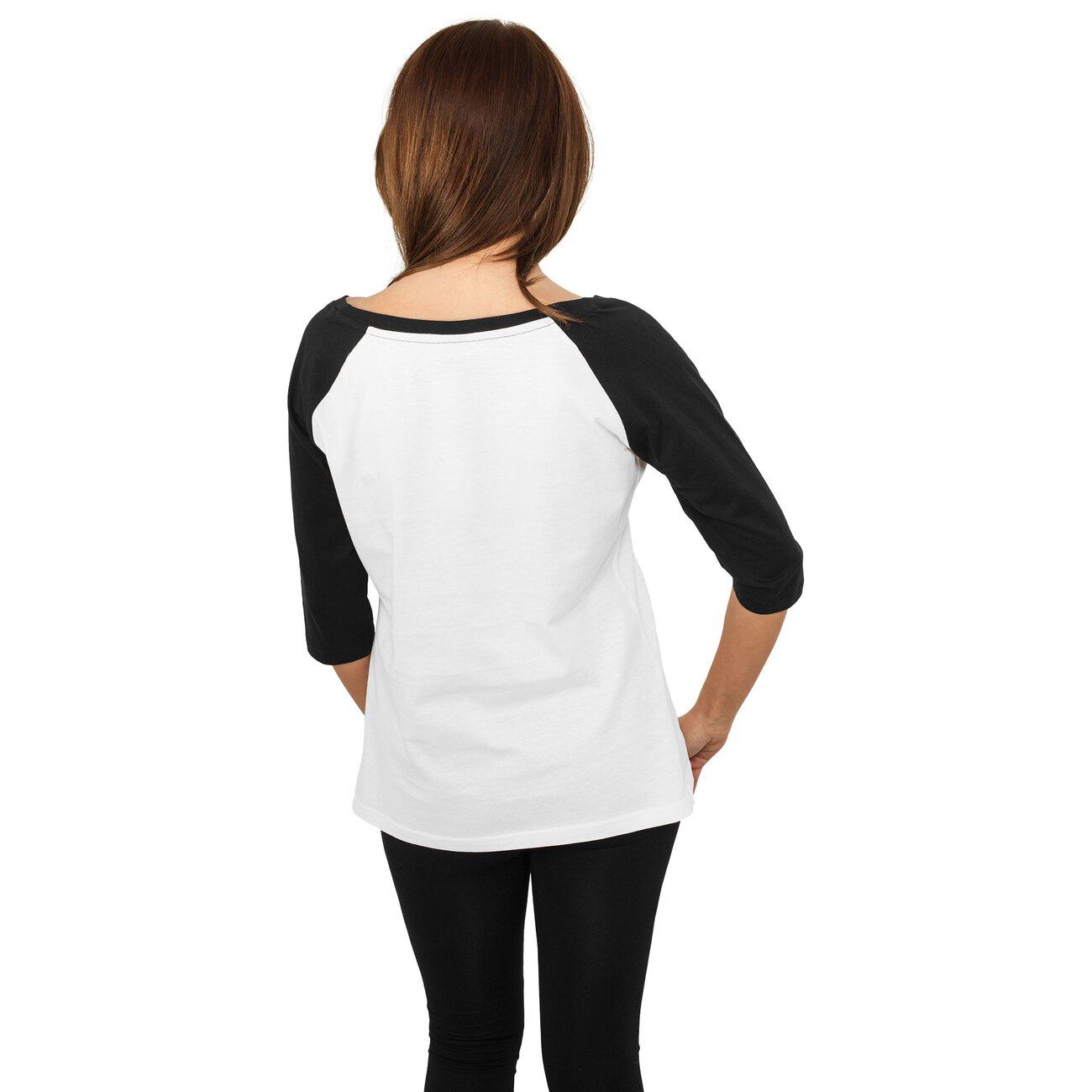 urban classics raglan 3 4 shirt damen raglan rmel tb 733. Black Bedroom Furniture Sets. Home Design Ideas