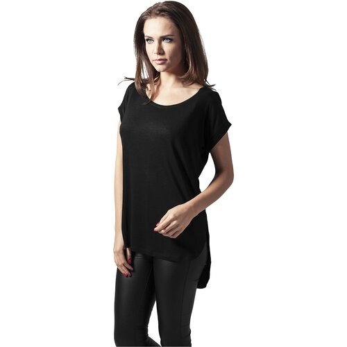 Urban Classics T-Shirt Damen Long Back Shaped Slub Shirt TB-1186