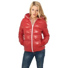 Urban Classics Winterjacke Damen Shiny Bubble Glanz...