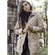Urban Classics Winterjacke Damen Garment Washed Parka...
