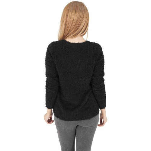 Urban Classics Sweatshirt Damen Nylon Feather Crewneck Pullover TB-1082
