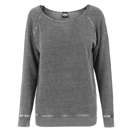 Urban Classics Sweatshirt Damen Burnout Open Edge Crewneck TB-1208