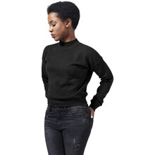 Urban Classics Sweatshirt Damen Short Interlock Crewneck...