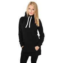Urban Classics Sweatshirt Damen Long Polar Kapuzen...