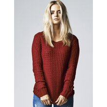 Urban Classics Pullover Damen Long Wideneck Sweater...