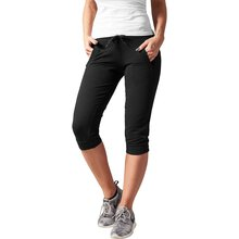 Urban Classics Jogginghose Damen French Terry Capri-Hose...