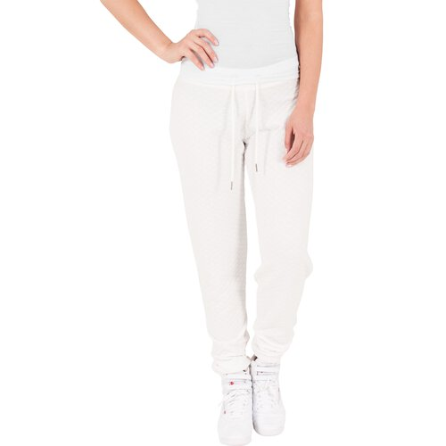 Urban Classics Jogginghose Damen Diamond Quilt Optik Sweatpant TB-1072