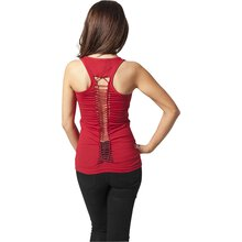 Urban Classics Tank Top Damen Cutted Back Singlet...