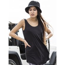 Urban Classics Tank Top Damen Leather Imitation Piping...