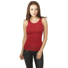 Urban Classics Tank Top Damen Fitted Viscon Racerback...