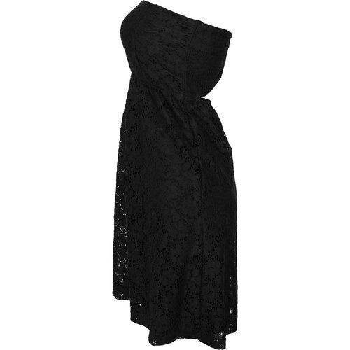 f0bea02e8fc47e ... Urban Classics Damen Kleid Schulterfreies Spitzenkleid TB-922 ...