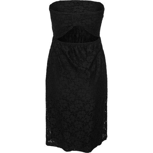 9ff79c464d4eaa ... Urban Classics Damen Kleid Schulterfreies Spitzenkleid TB-922