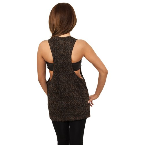 Urban Classics Tank Top Damen Leo Design Loose Singlet Shirt TB-719