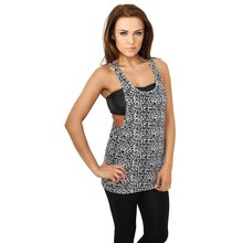 Urban Classics Tank Top Damen Leo Design Loose Singlet...