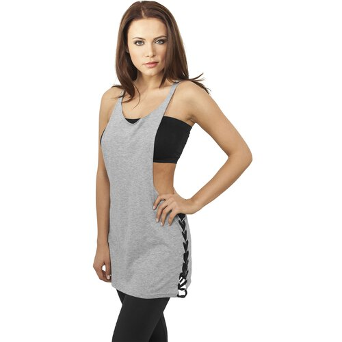 Urban Classics Tank Top Damen Side Knotted Loose Fit Singlet Shirt TB-915