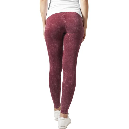 Urban Classics Leggings Damen Acid Wash Damenhose TB-777