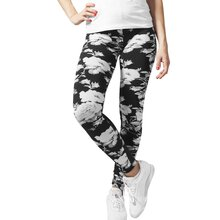 Urban Classics Leggings Damen Flower Design Damenhose...