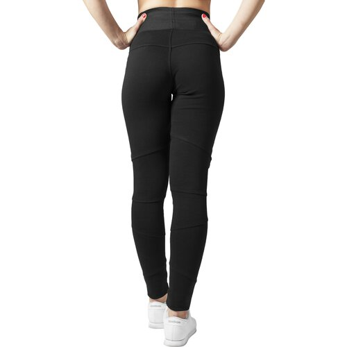 Urban Classics Leggings Damen High Waist Interlock Damenhose TB-1053