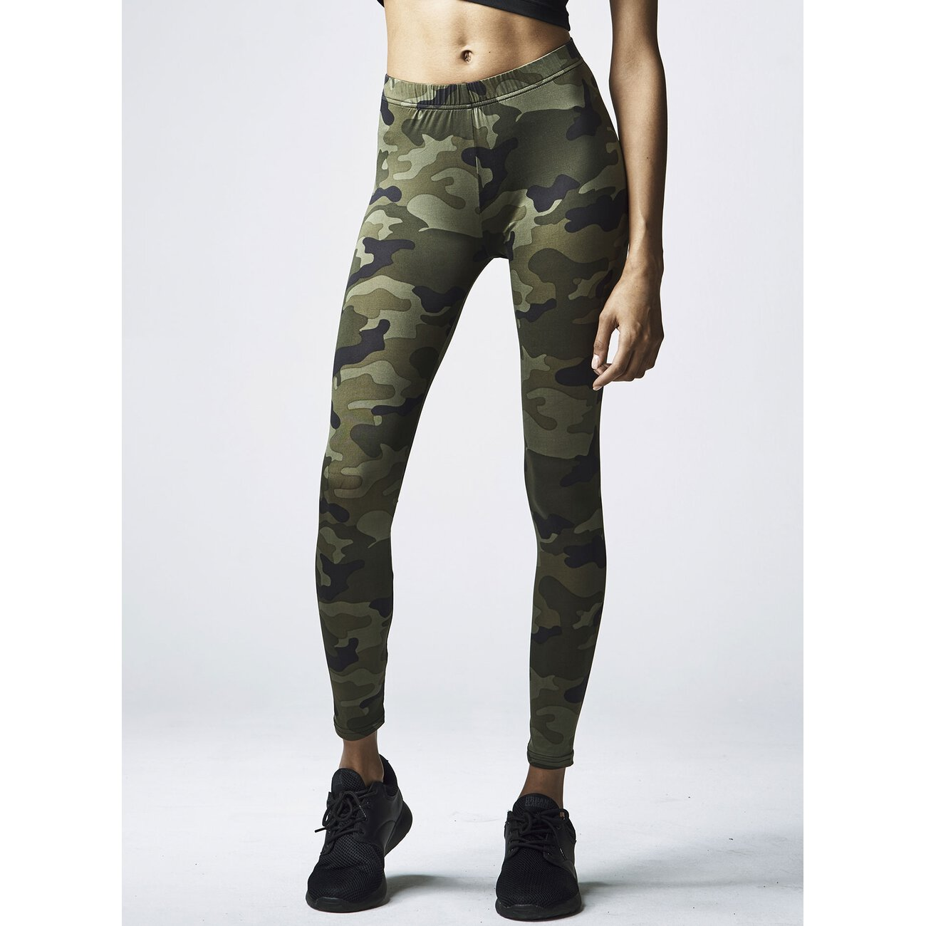 camouflage leggings damen urban classics camo look. Black Bedroom Furniture Sets. Home Design Ideas