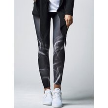 Urban Classics Leggings Damen Smoke Print Damenhose...