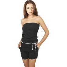 Urban Classics Jumpsuit Damen Hot Turnup Einteiler...