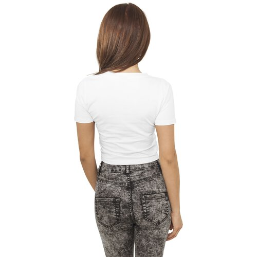 Urban Classics T-Shirt Damen Basic Bauchfreies Cropped Shirt TB-917