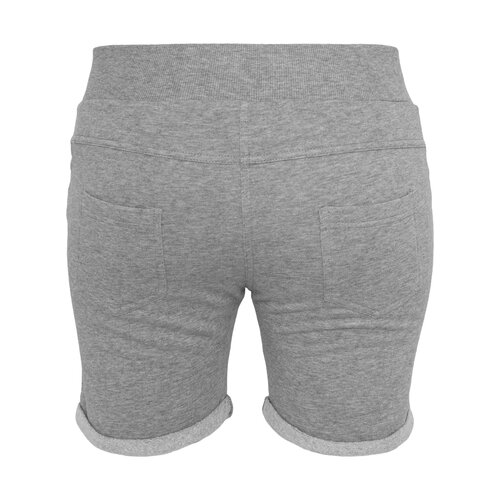 Urban Classics Shorts Damen 5 Pocket Beinumschlag Sweatshort TB-752