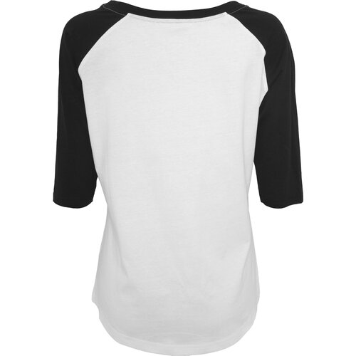 Mister Tee T-Shirt Damen 5 Seconds of Summer Raglan Shirt MT-442 Weiß