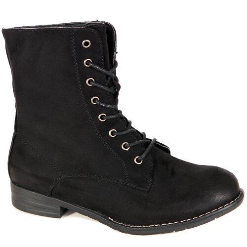 37a8af233da2 Damen Schuhe Schnür-stiefeletten Wildleder-Optik Boots Schnürer-Stiefel  A2B-1019 ...