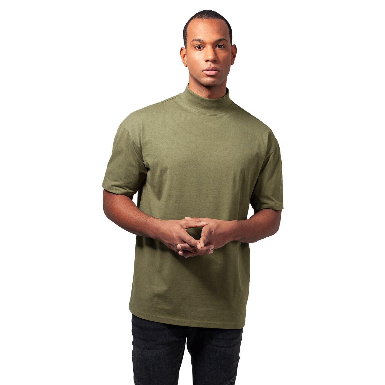 rollkragen t shirt herren urban classics oversize shirt turtleneck. Black Bedroom Furniture Sets. Home Design Ideas