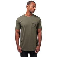 fca03659ae5458 Urban Classics T-Shirt Herren Ripped Pocket Tee Kurzarm Shirt TB-1570