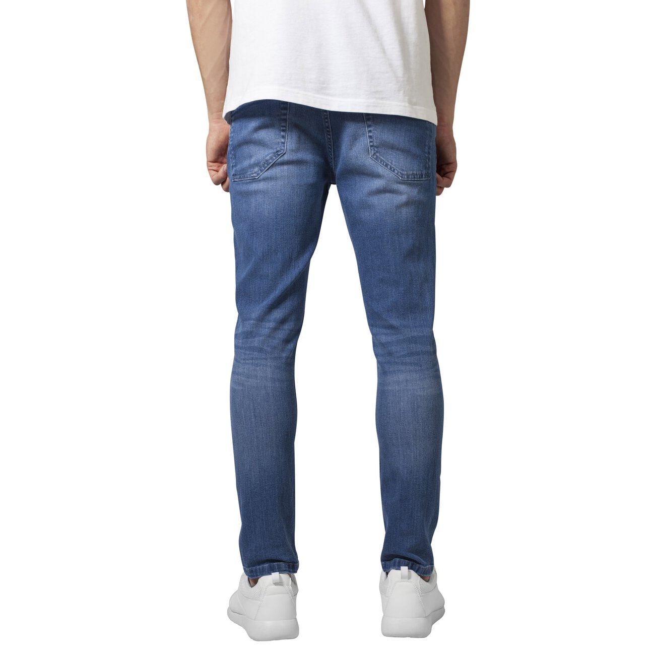 herren skinny jeans urban classics jeans stretch denim pants hose. Black Bedroom Furniture Sets. Home Design Ideas