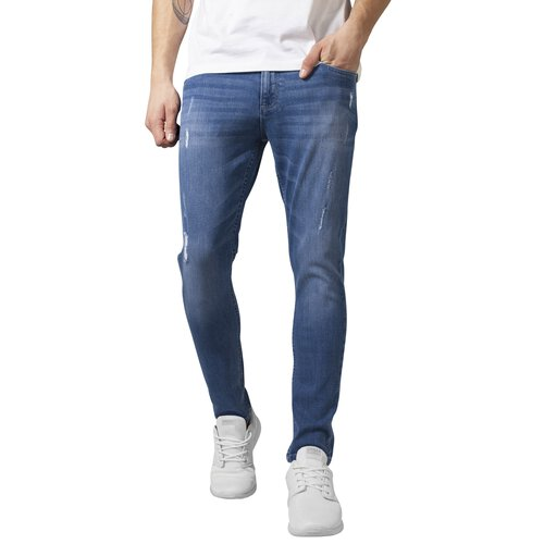Urban Classics Jeans Herren Skinny Ripped Stretch Denim Pants Hose TB-1606