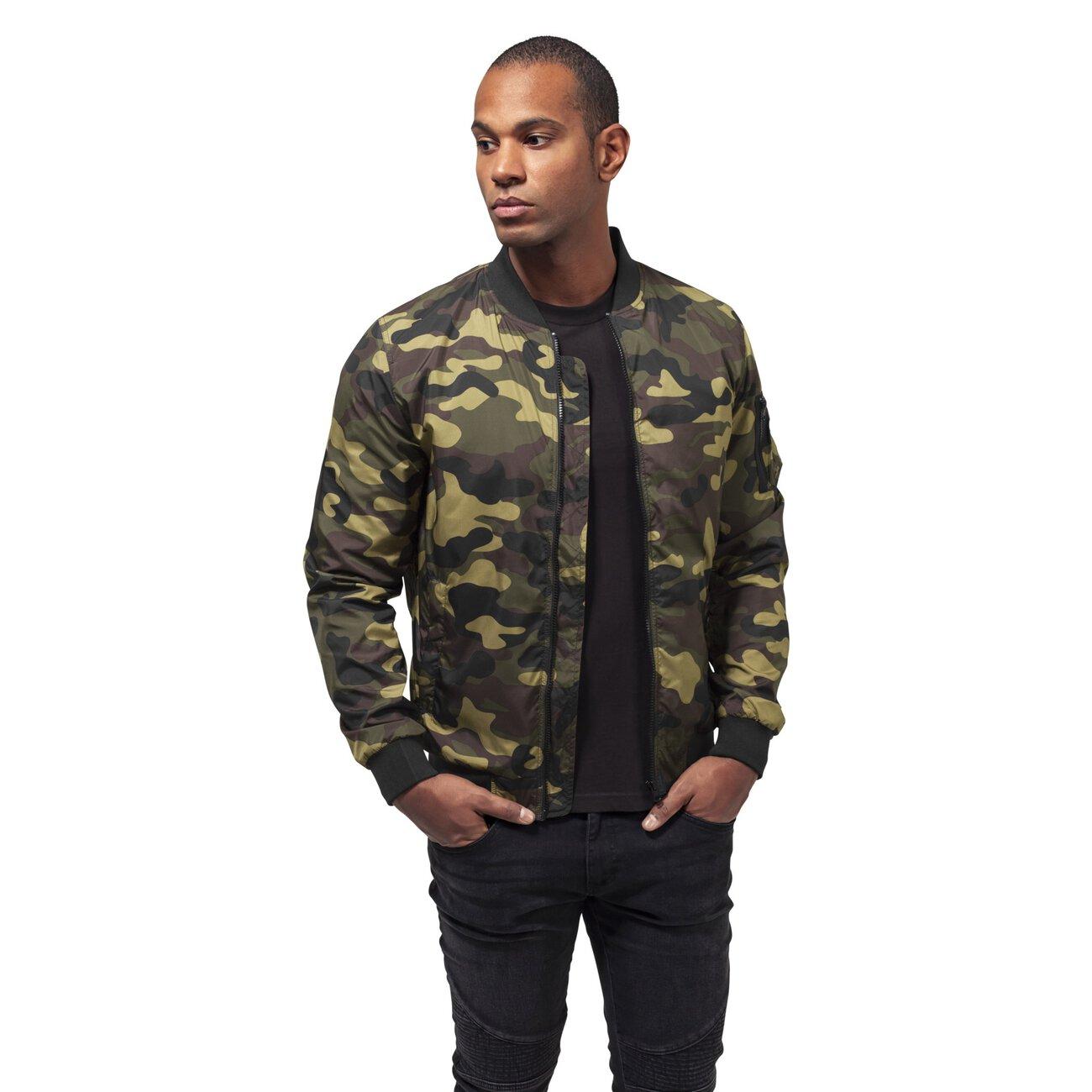 camouflage bomberjacke herren urban classics camo jacke. Black Bedroom Furniture Sets. Home Design Ideas