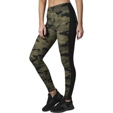 Urban Classics Leggings Damen Camouflage Stripe Look...