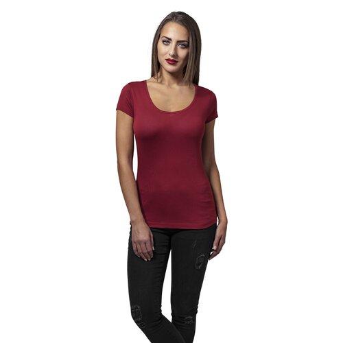 167732754c2e7f Urban Classics T-Shirt Damen Basic Viskose Kurzarm Shirt TB-1510 ...