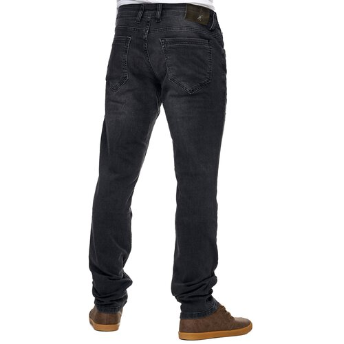 Reslad Jeans-Herren Slim Fit Basic Style Stretch-Denim Jeans-Hose RS-2063