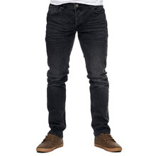 Reslad Jeans-Herren Slim Fit Basic Style Stretch-Denim...