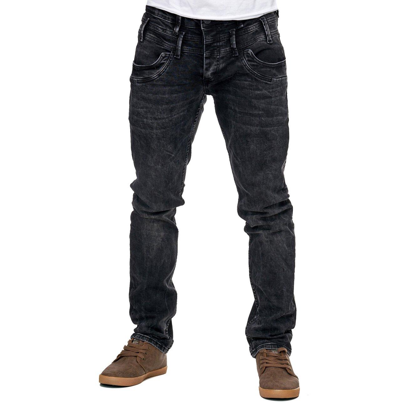 reslad jeans herren slim fit hose basic stretch denim. Black Bedroom Furniture Sets. Home Design Ideas