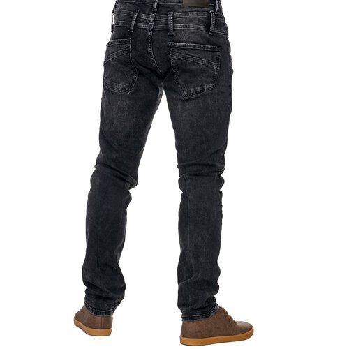 Reslad Jeans-Herren Slim Fit Basic Style Stretch-Denim Jeans-Hose RS-2064