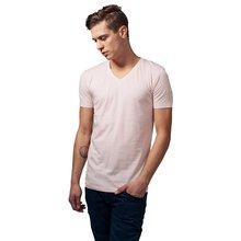 b645b5d9fa51e9 Urban Classics T-Shirt Herren Basic V-Neck Kurzarm Shirt TB-1559 Pink 2XL