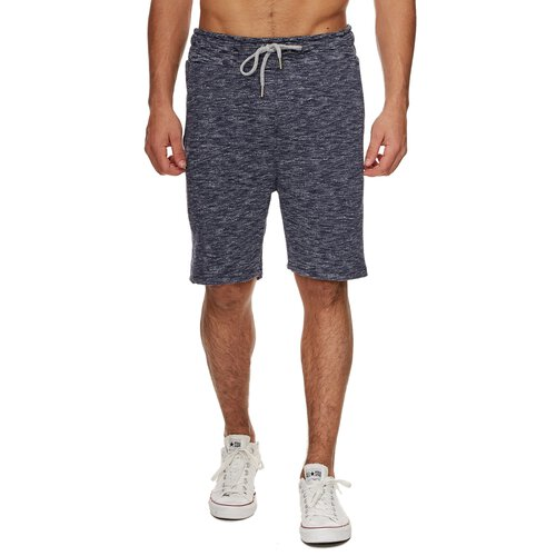 Reslad Herren-Shorts Melange Look Kurze Sweat Sport Jogging-Hose RS-2011