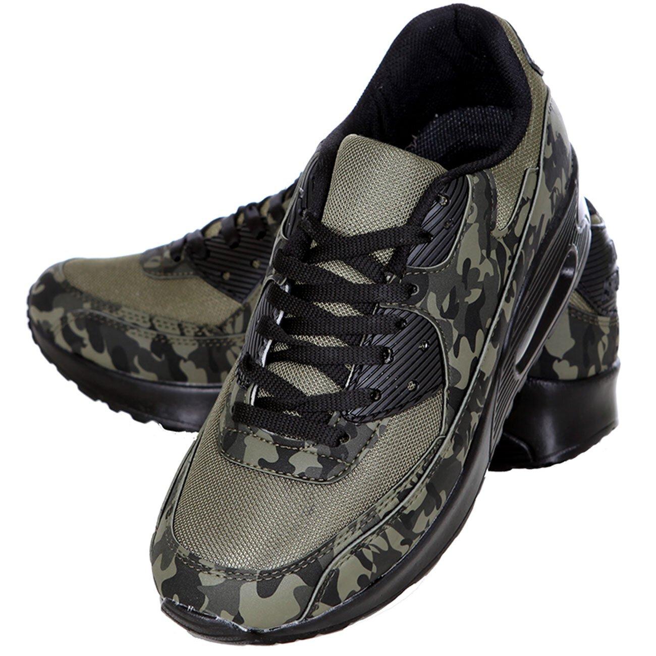 camouflage sneaker herren schuhe schn rer sport freizeit. Black Bedroom Furniture Sets. Home Design Ideas