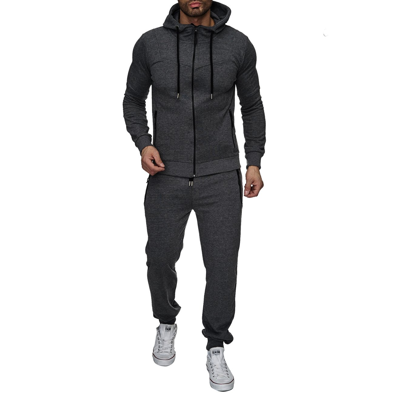 Reslad Jogging Anzug Herren Trainingsanzug Sport Anzug Jogging Hose + Oberteil RS 5063