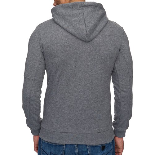 Reslad Sweat-Shirt Herren Interlock Sweat Kapuzen-Pullover Hoody RS-1035