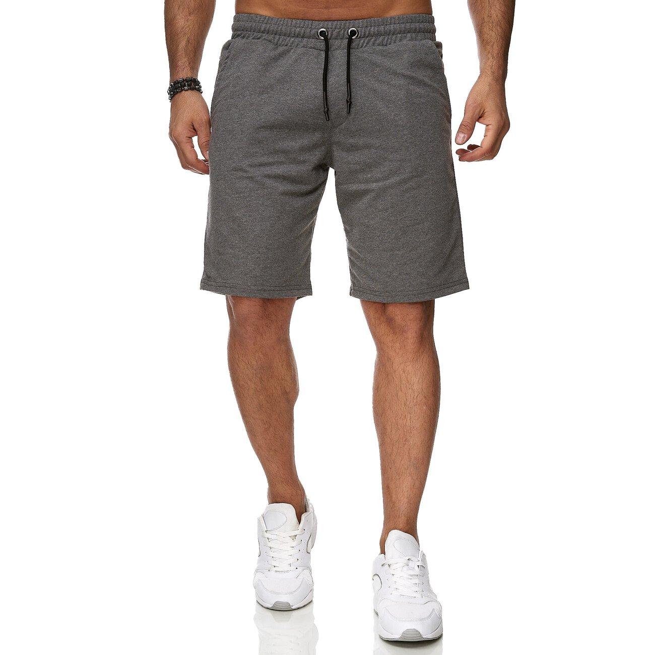 reslad sweat shorts herren basic sport freizeit kurze sweat hose. Black Bedroom Furniture Sets. Home Design Ideas