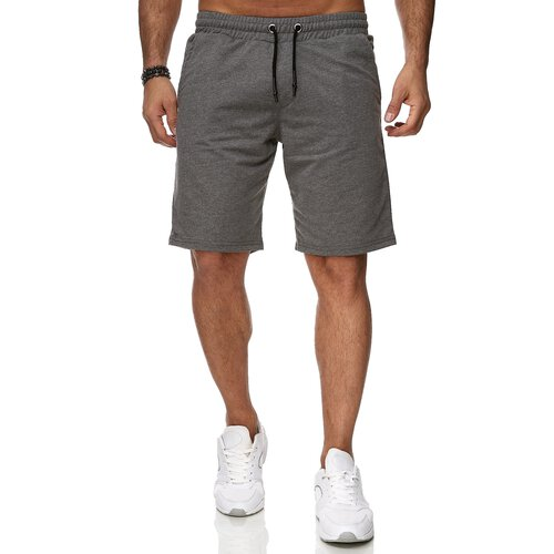 Reslad Sweat-Shorts Herren Basic Sport Freizeit Kurze Sweat-Hose RS-5061